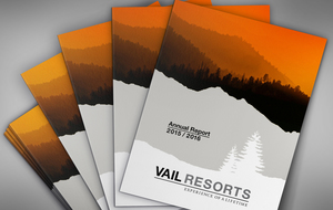 Vail Resorts Annual Report Front Cover