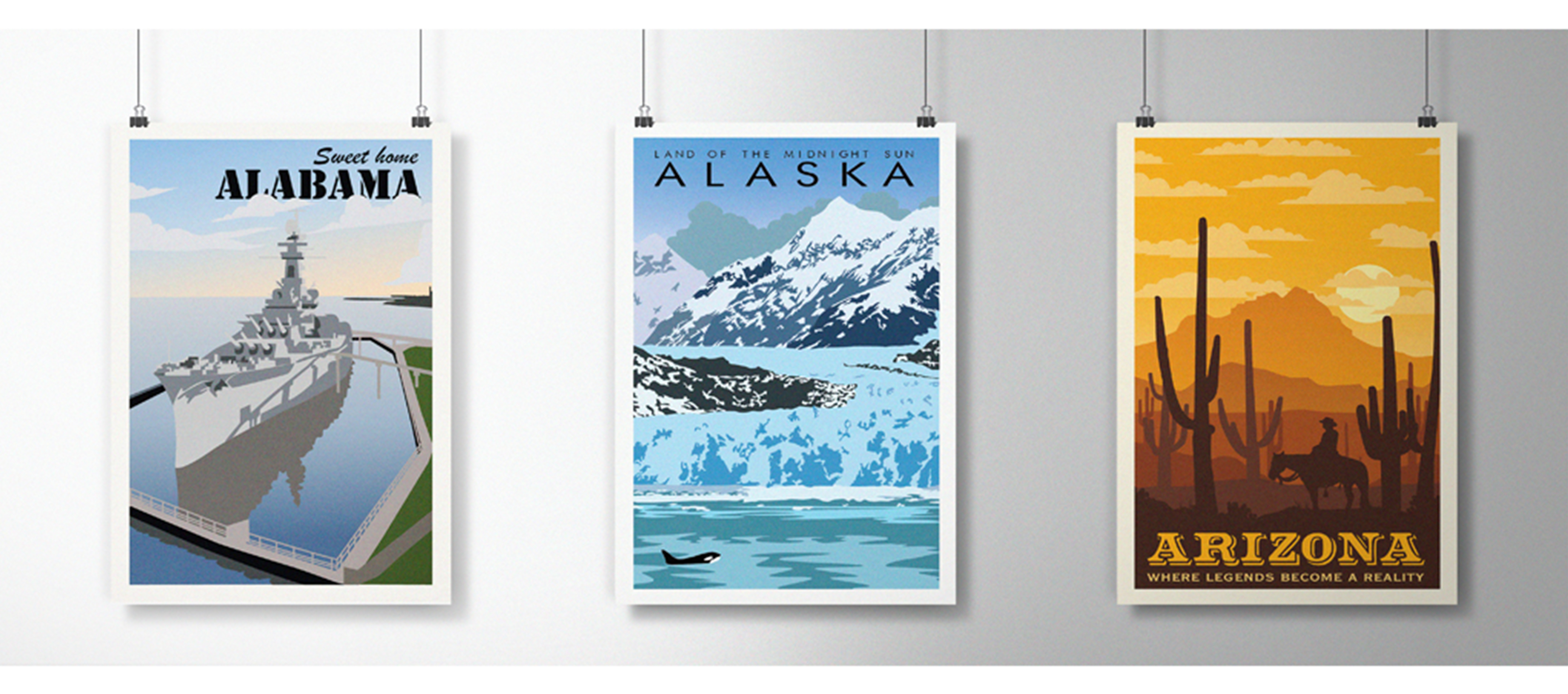 America The Beautiful - Alabama, Alaska, and Arizona