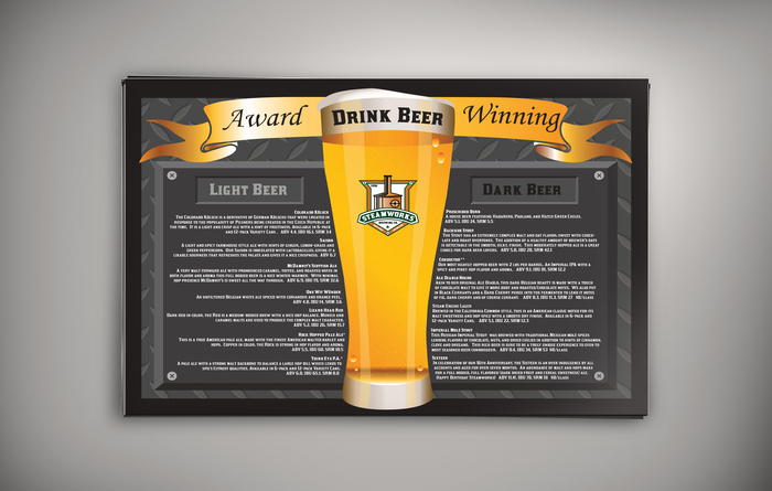 Steamworks Brewing Company Menu