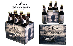 Dry Dock Hop Abomination Packaging Design