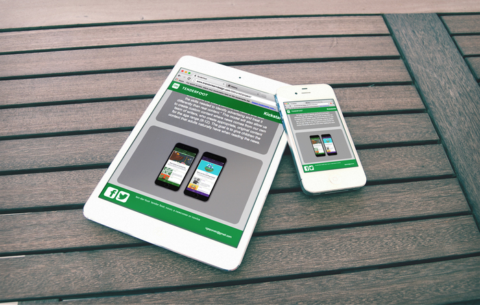 Tenderfoot Tablet and Mobile Design